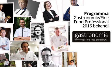 Programma Gastronomie/Fine Food Professional 2016, 2017 volgt binnenkort!